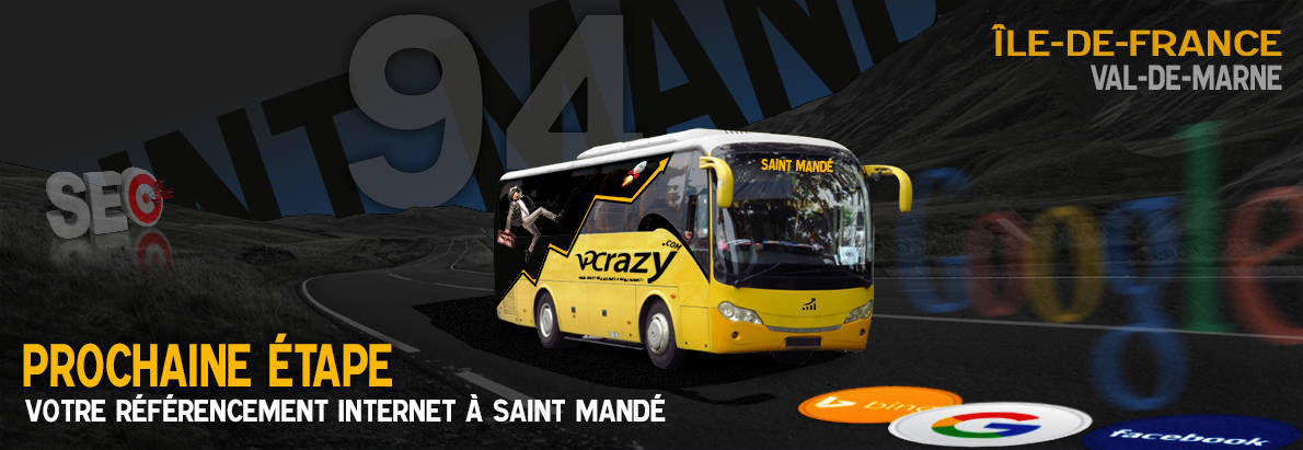Agence SEO Google Saint-Mandé