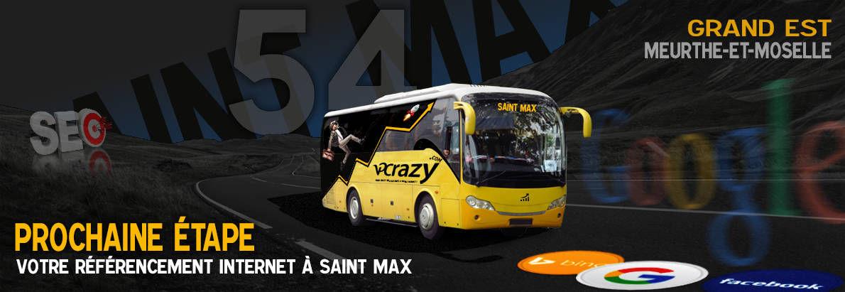Agence SEO Google Saint-Max
