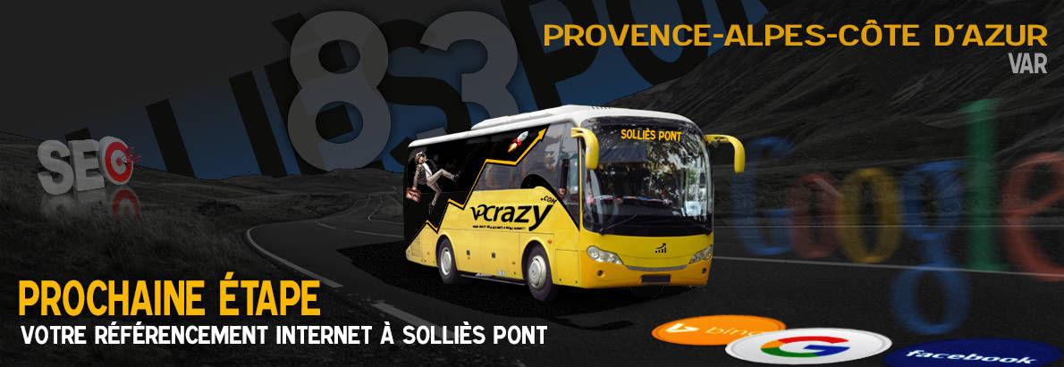 Agence SEO Google Solliès-Pont