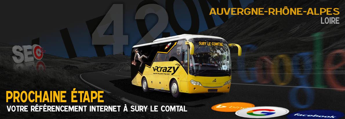 Agence SEO Google Sury-le-Comtal