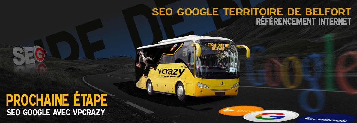 Agence SEO Google Territoire de Belfort