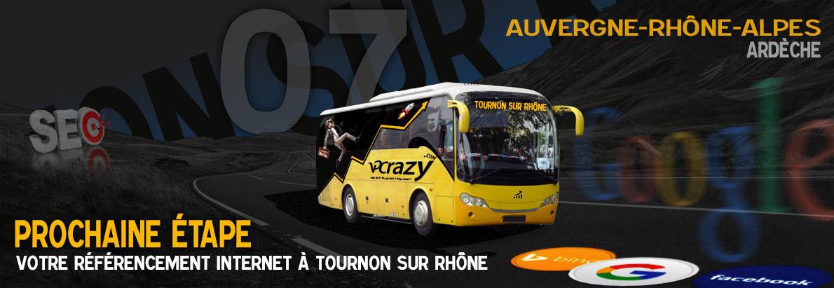 Agence SEO Google Tournon-sur-Rhône