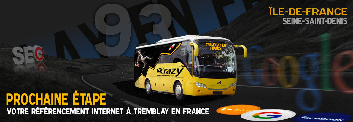 Agence SEO Google Tremblay-en-France