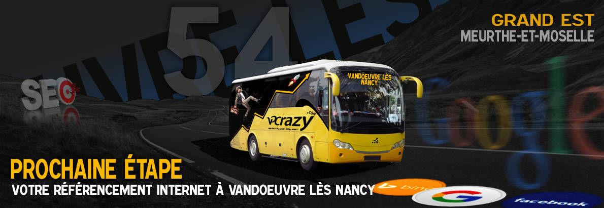 Agence SEO Google Vandoeuvre-lès-Nancy