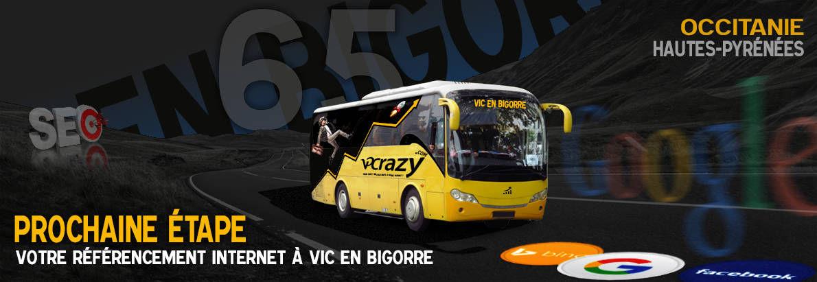 Agence SEO Google Vic-en-Bigorre