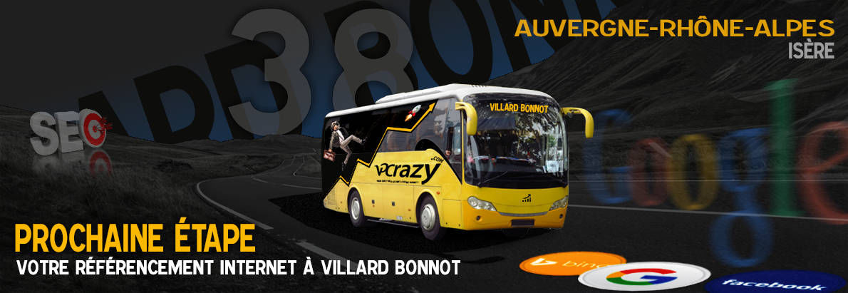 Agence SEO Google Villard-Bonnot