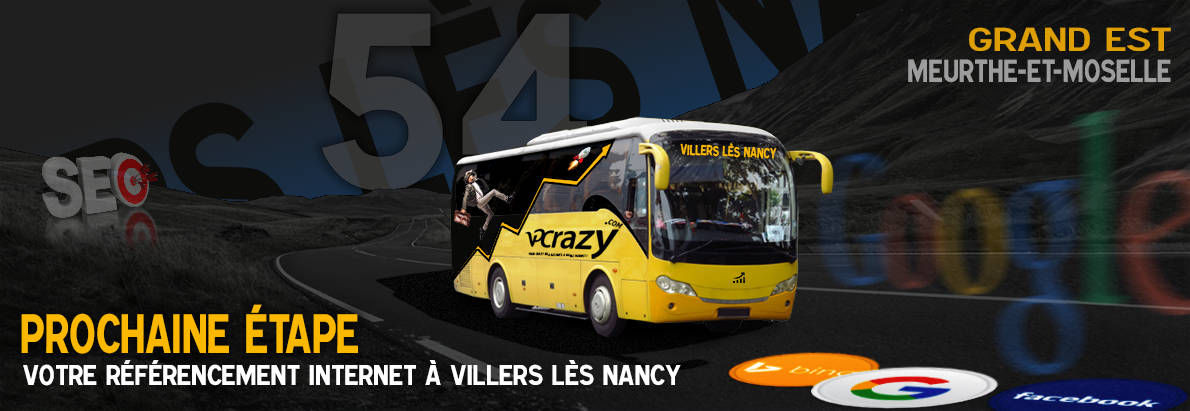 Agence SEO Google Villers-lès-Nancy