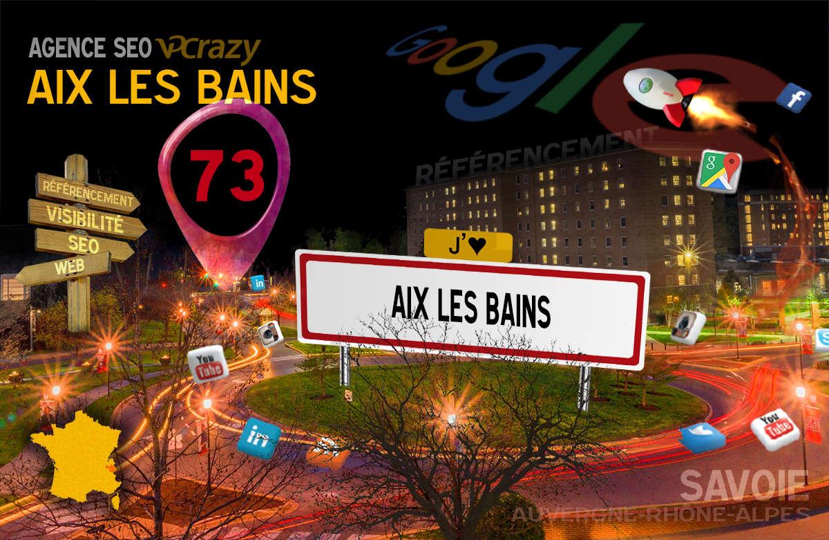 Référencement Internet Aix-les-Bains