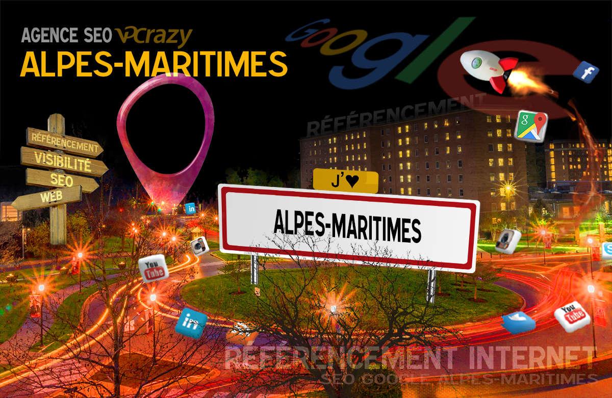 Référencement Internet Alpes-Maritimes