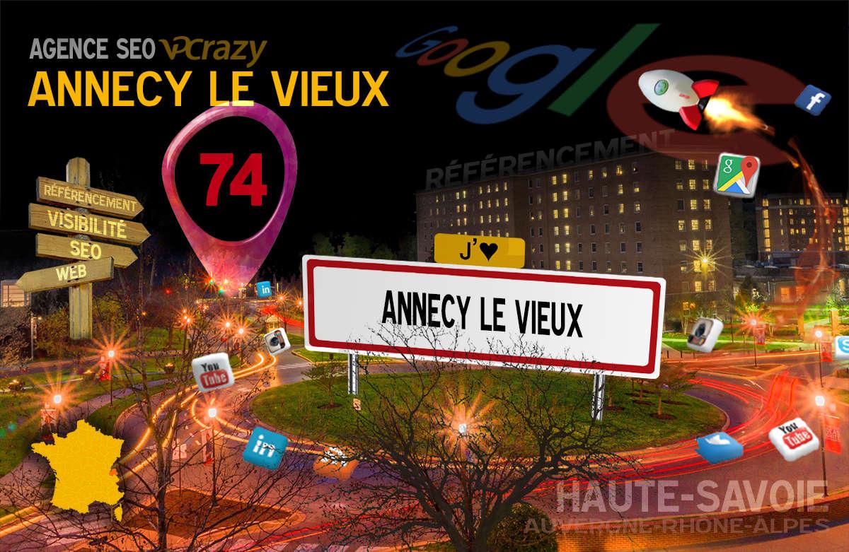 Référencement Internet Annecy-le-Vieux