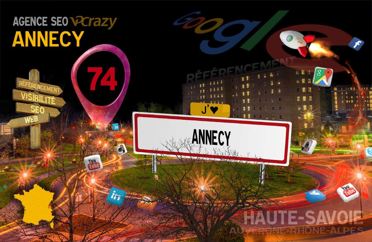 Référencement Internet Annecy