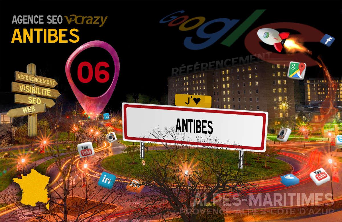 Référencement Internet Antibes