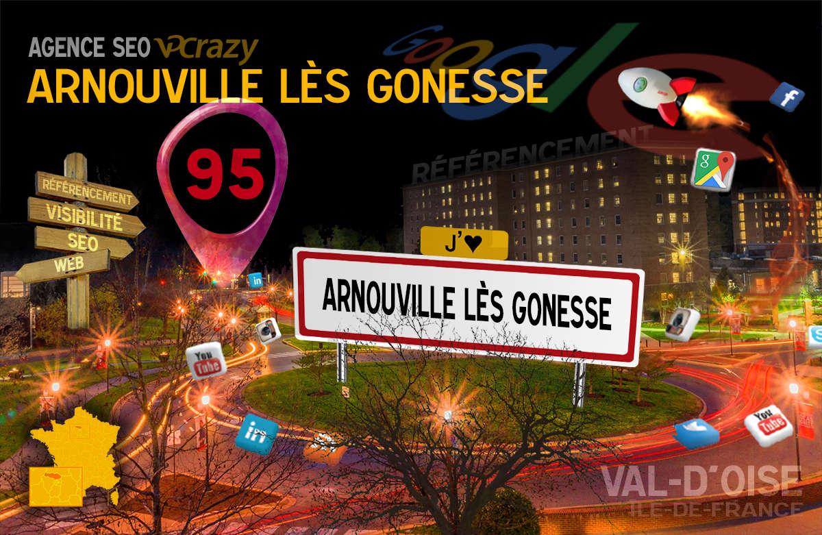 Référencement Internet Arnouville-lès-Gonesse