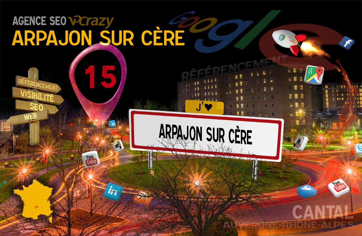 Référencement Internet Arpajon-sur-Cère