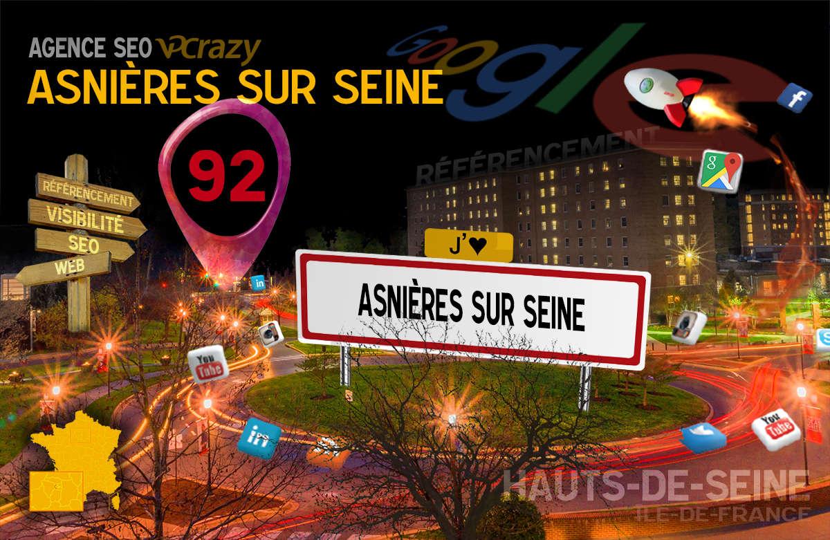 Référencement Internet Asnières-sur-Seine
