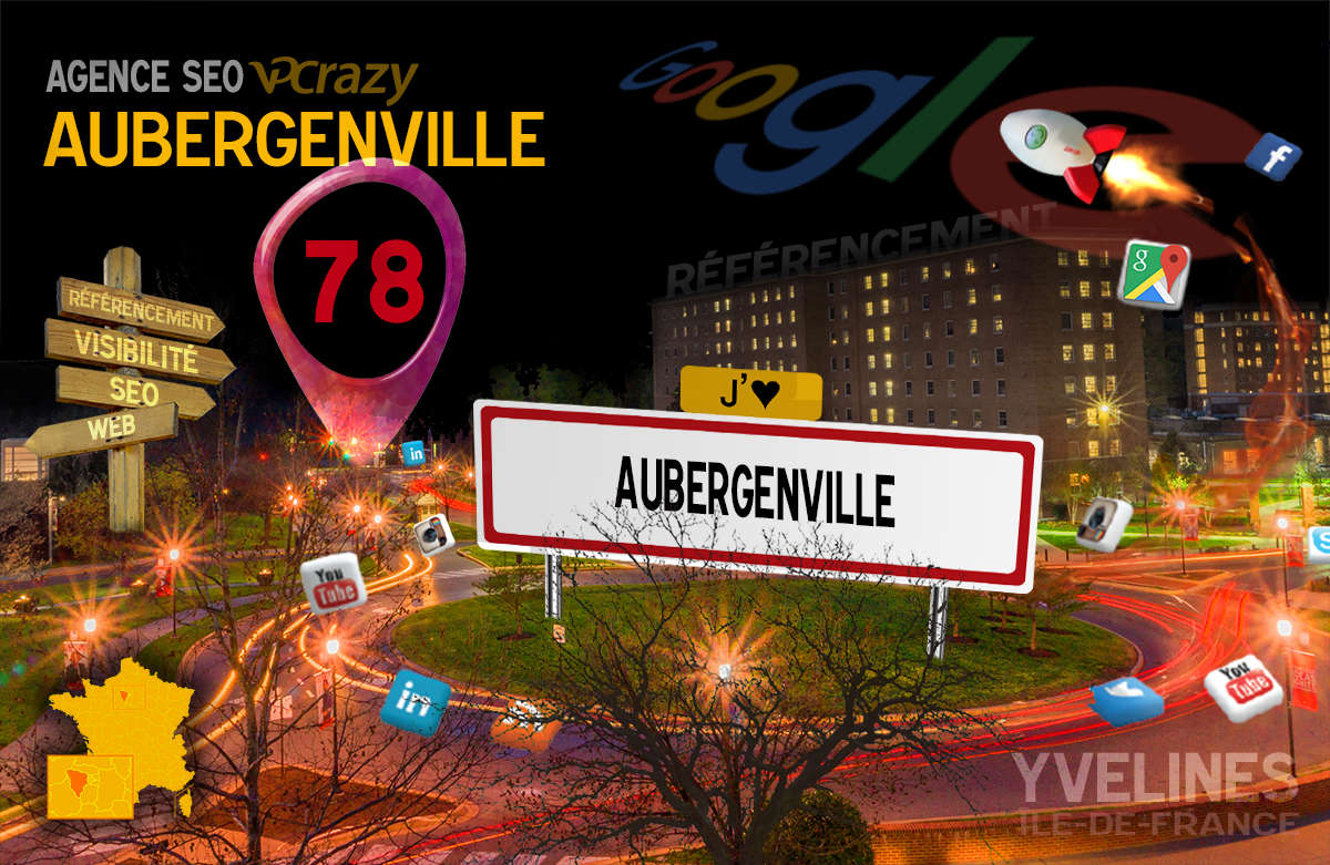 Référencement Internet Aubergenville