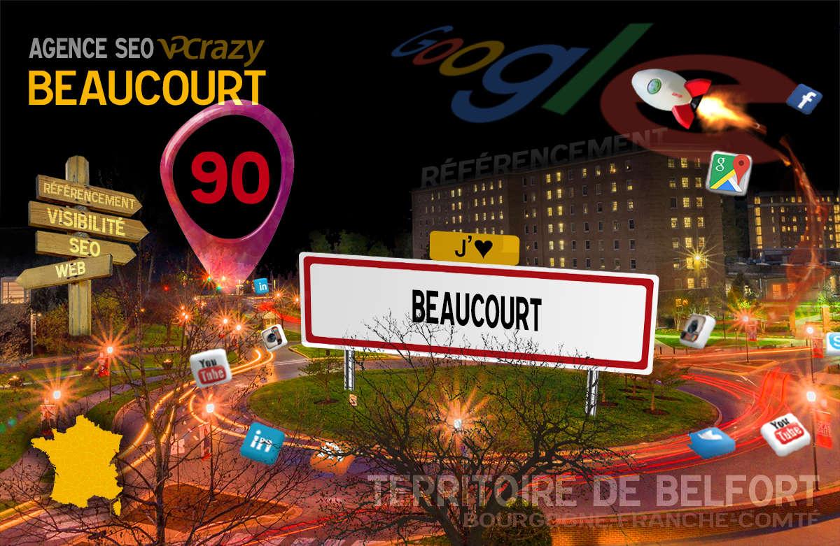 Référencement Internet Beaucourt