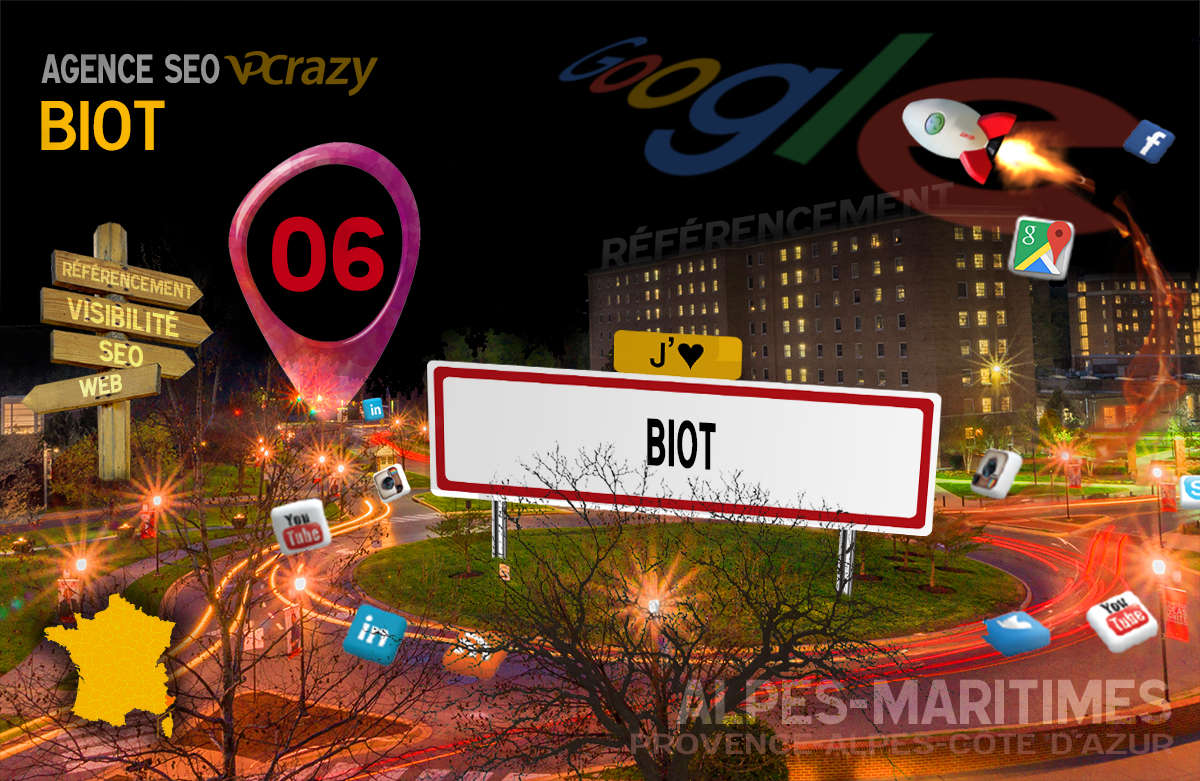 Référencement Internet Biot