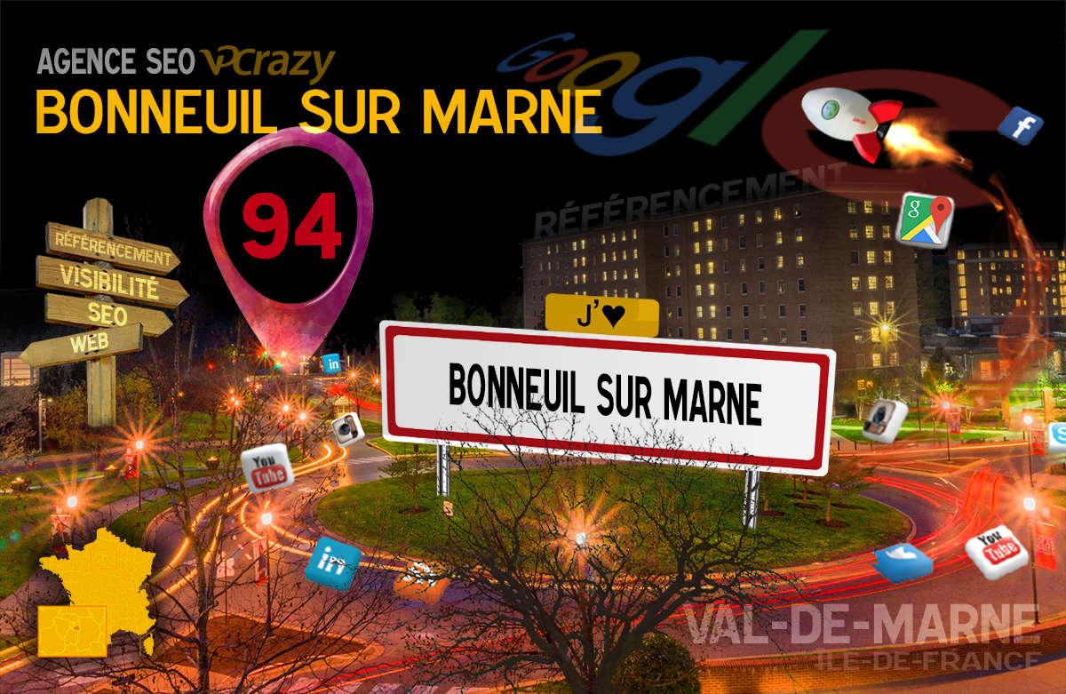 Référencement Internet Bonneuil-sur-Marne