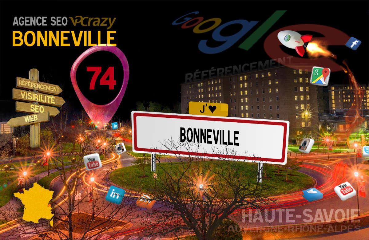 Référencement Internet Bonneville