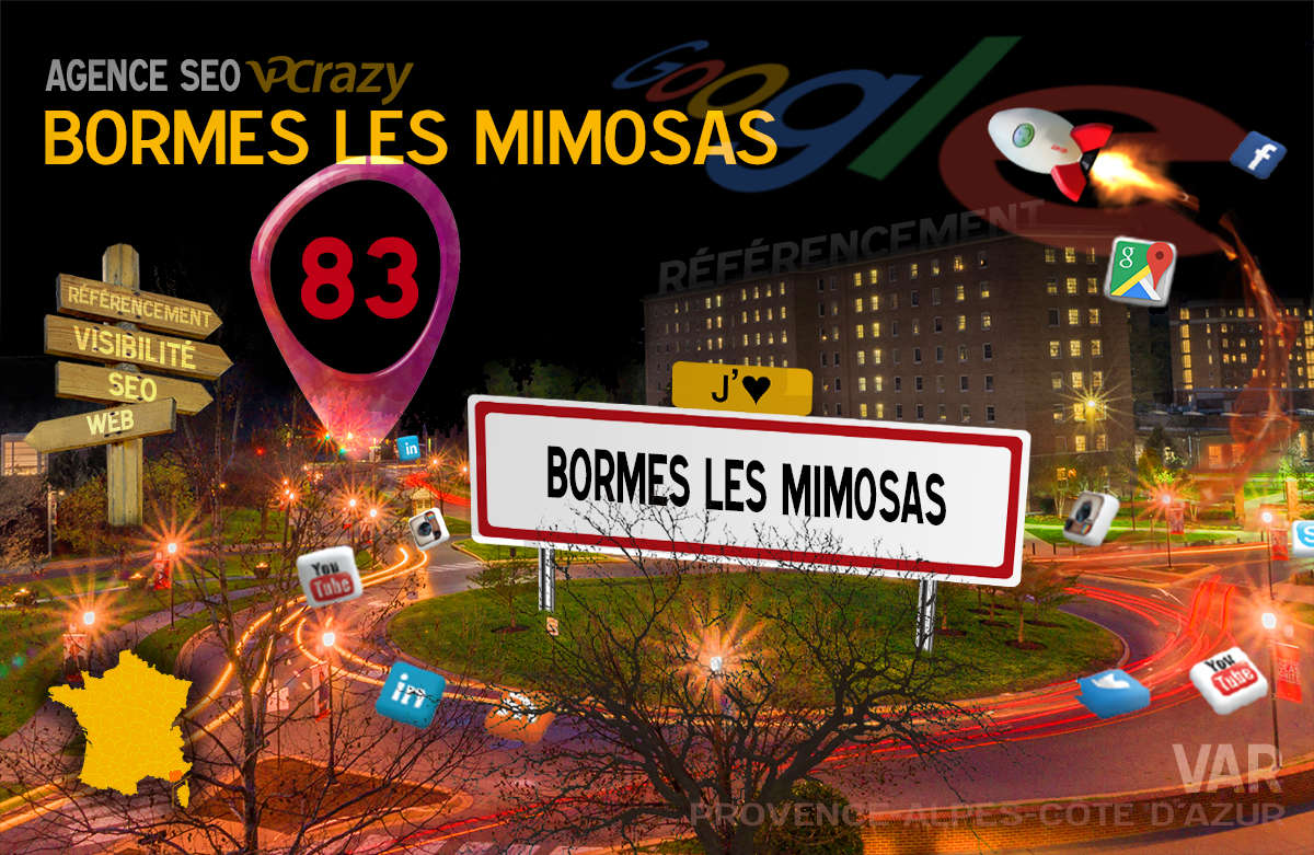 Référencement Internet Bormes-les-Mimosas