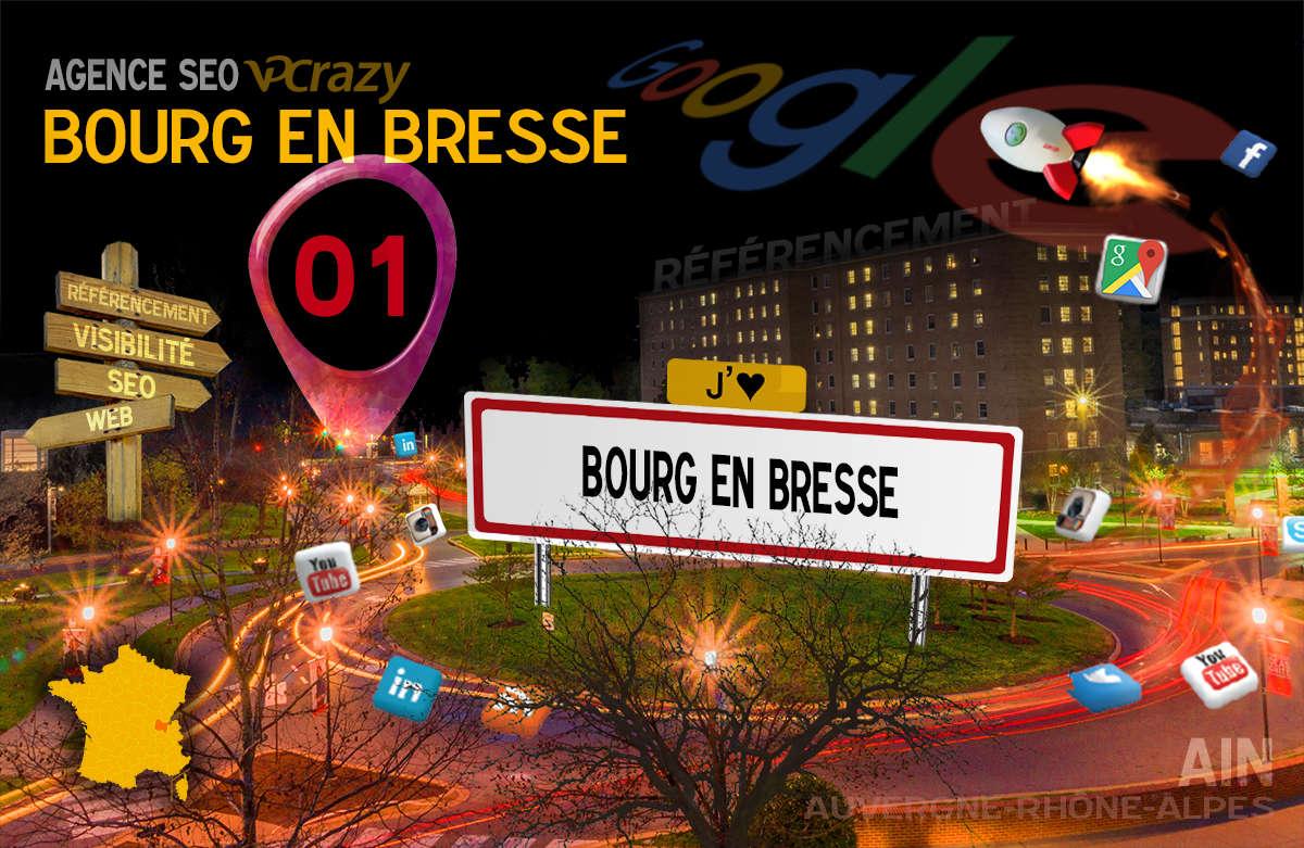 Référencement Internet Bourg-en-Bresse