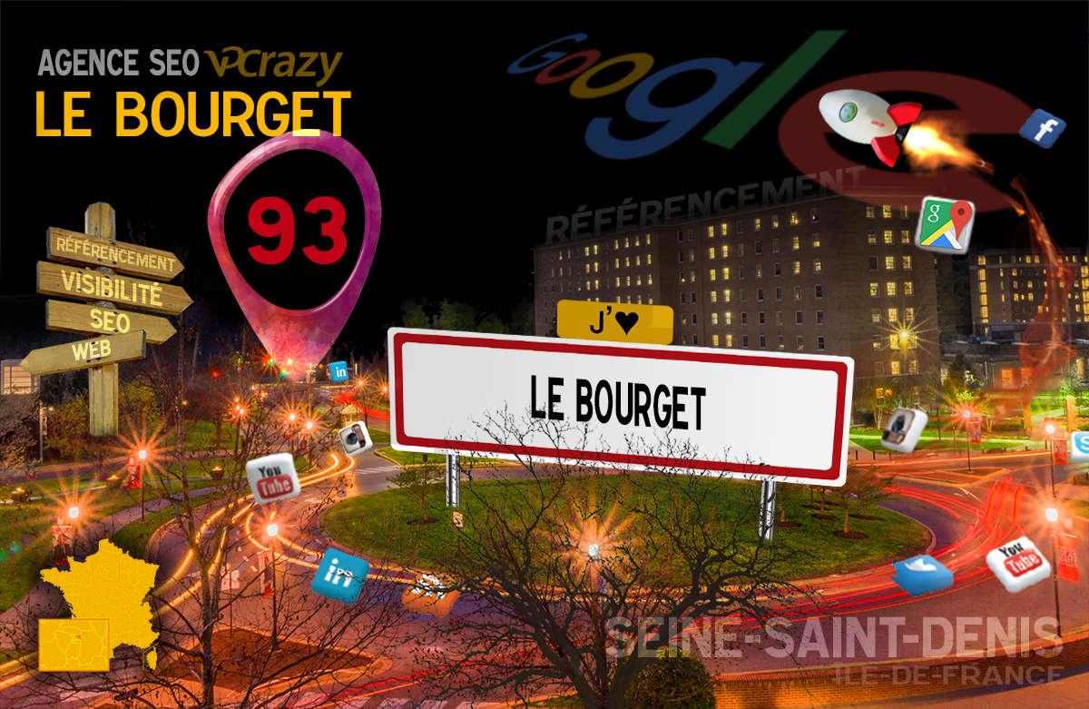 Référencement Internet Le Bourget