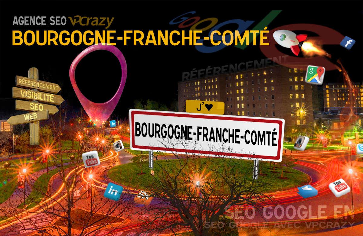 Référencement Internet Bourgogne-Franche-Comté