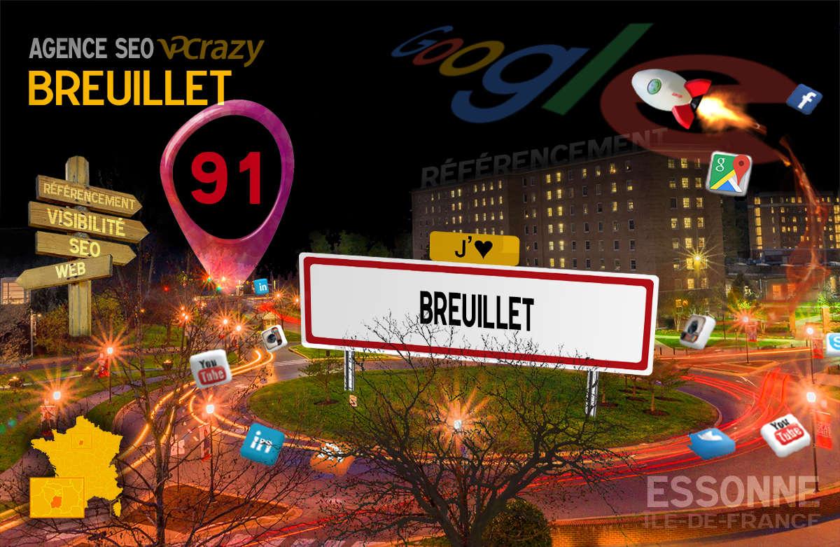 Référencement Internet Breuillet