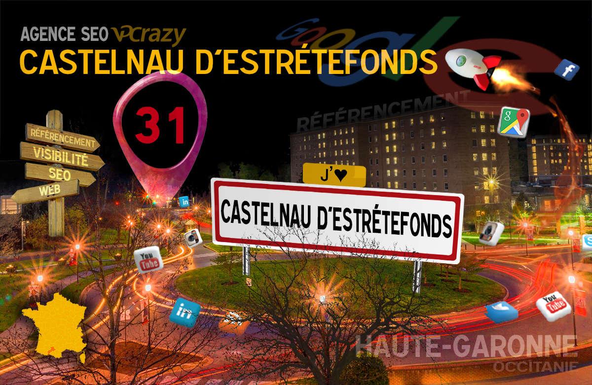 Référencement Internet Castelnau-d'Estrétefonds