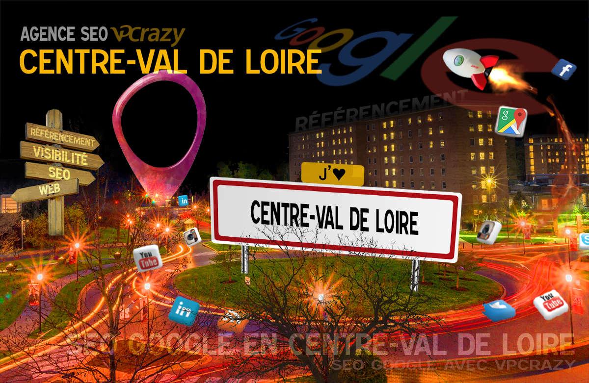 Référencement Internet Centre-Val de Loire