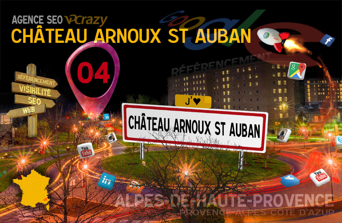 Référencement Internet Château-Arnoux-St-Auban