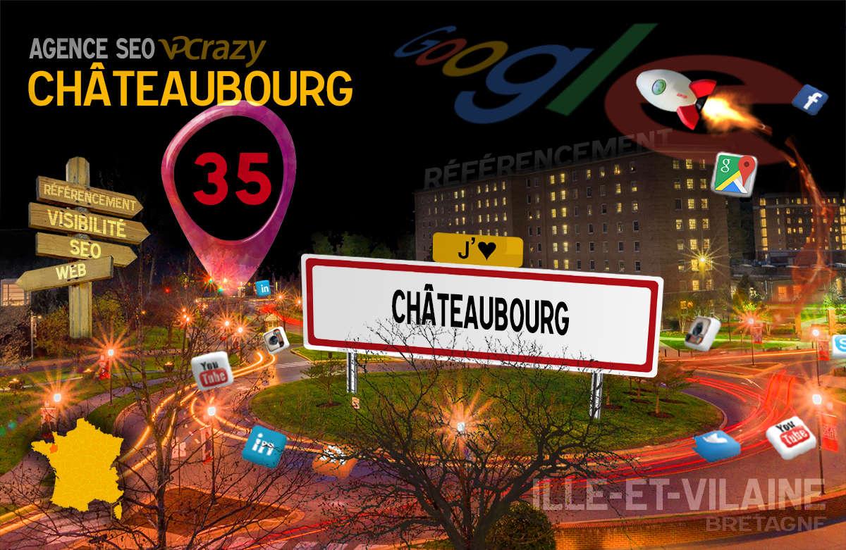 Référencement Internet Châteaubourg