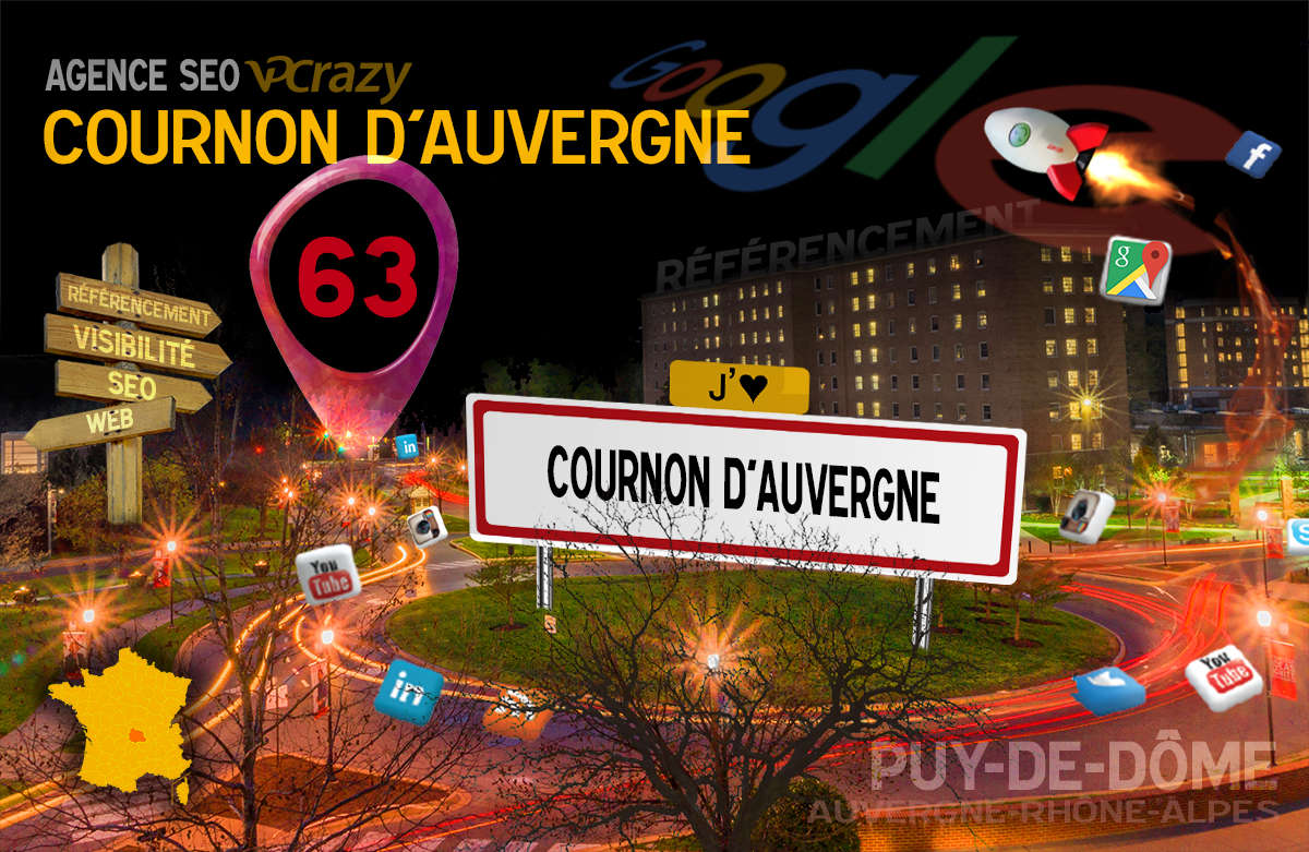 Référencement Internet Cournon-d'Auvergne
