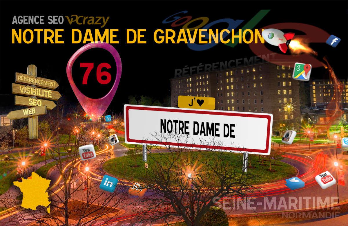 Référencement Internet Notre-Dame-de-Gravenchon