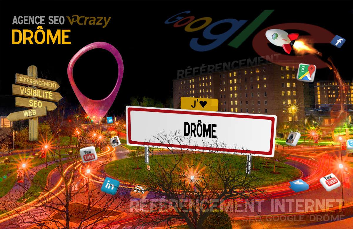 Référencement Internet Drôme