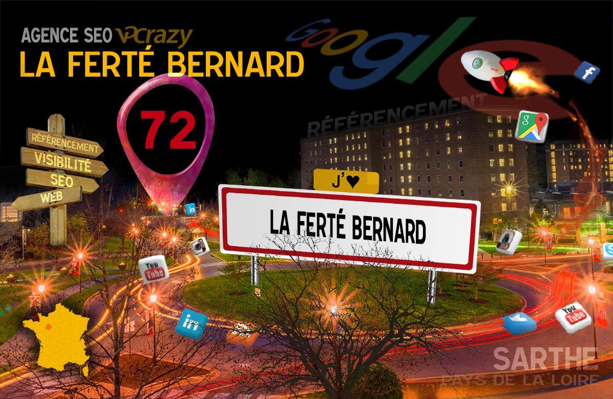 Référencement Internet La Ferté-Bernard