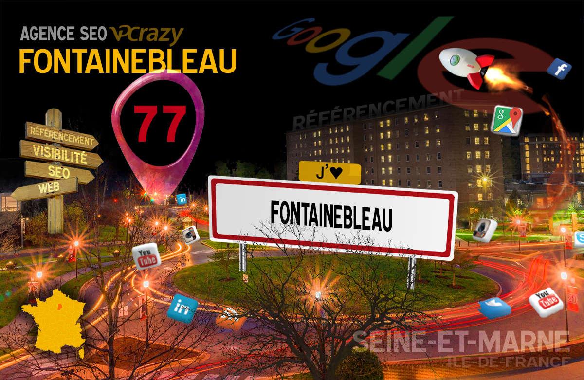 Référencement Internet Fontainebleau