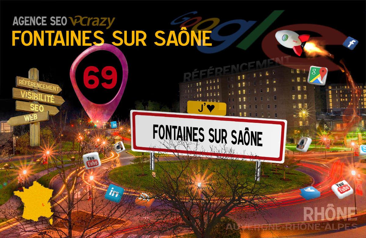 Référencement Internet Fontaines-sur-Saône