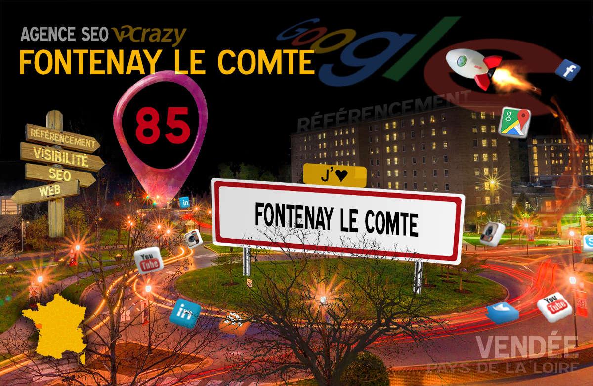 Référencement Internet Fontenay-le-Comte