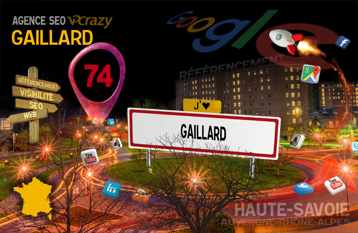 Référencement Internet Gaillard