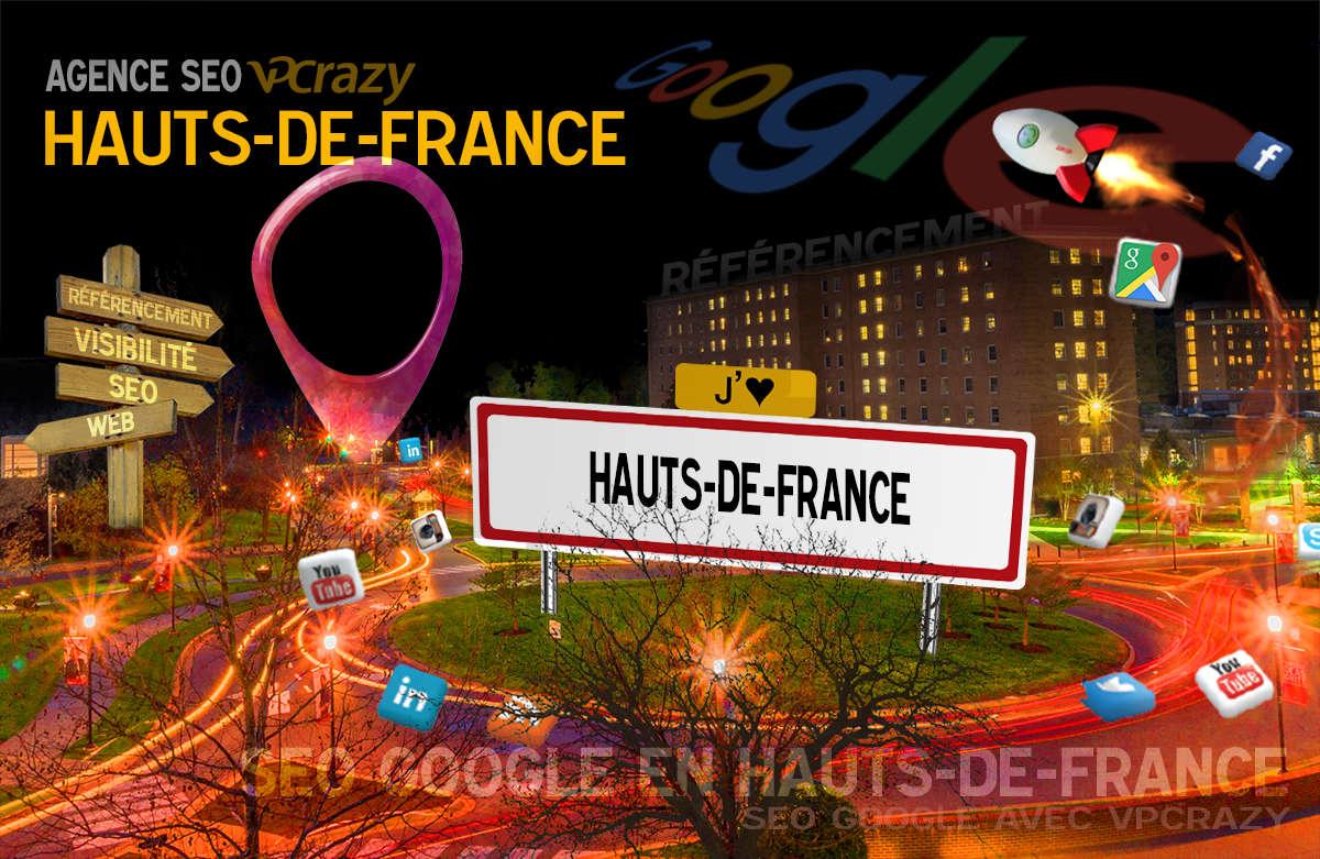 Référencement Internet Hauts-de-France
