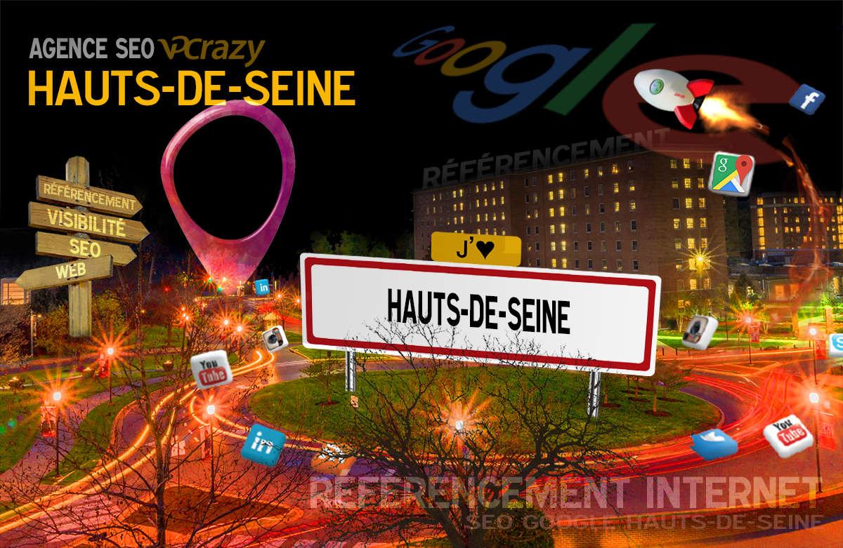 Référencement Internet Hauts-de-Seine