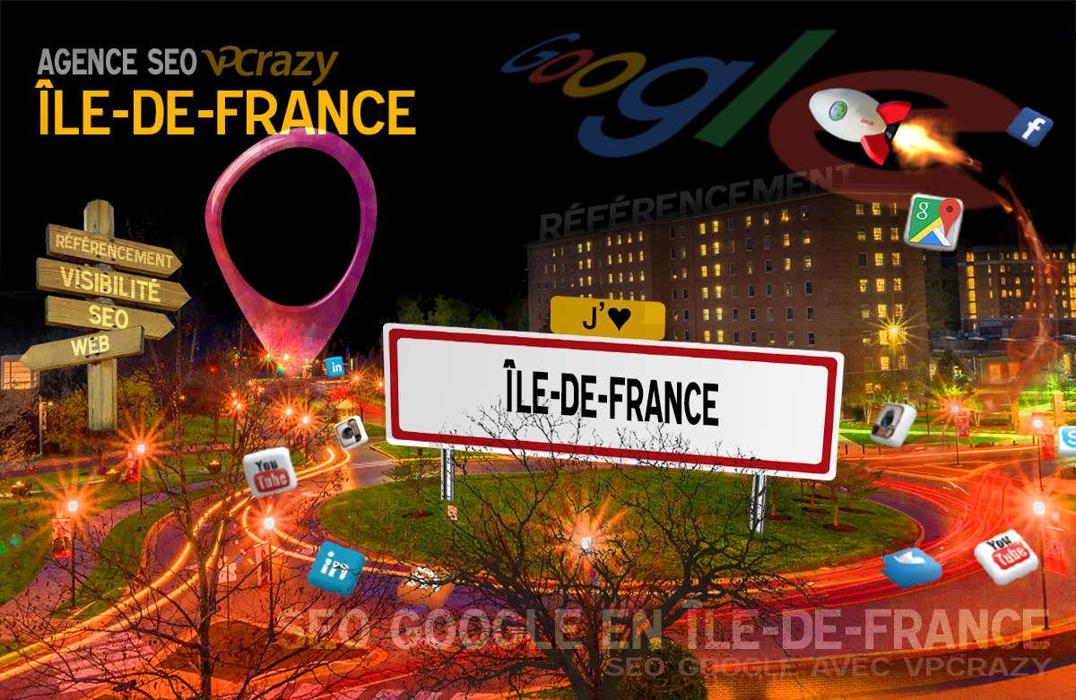 Référencement Internet Île-de-France