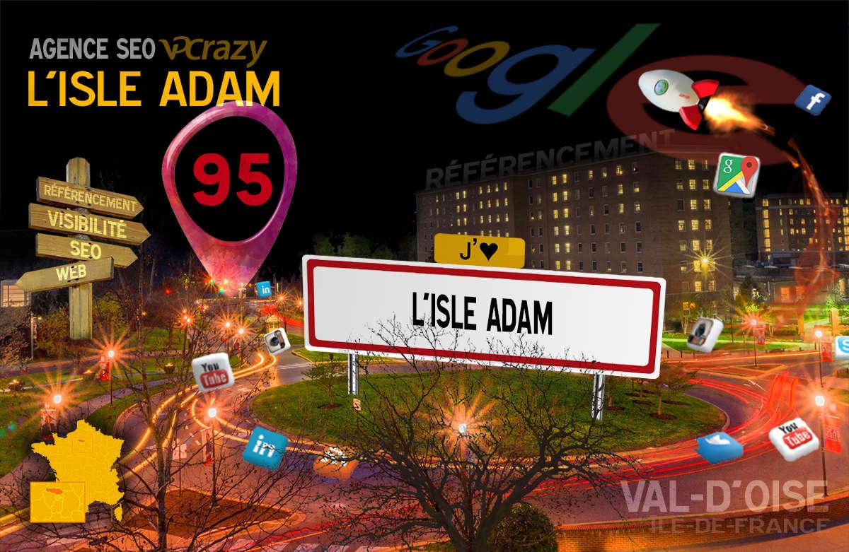 Référencement Internet L'Isle-Adam