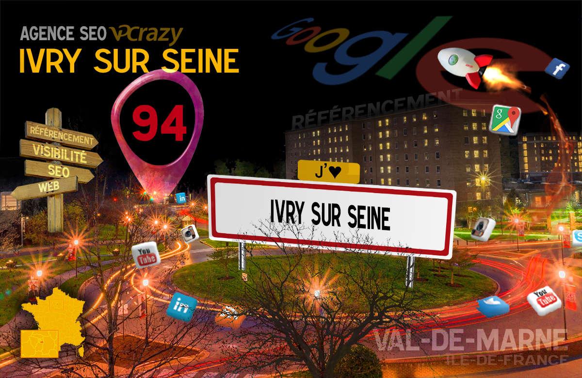 Référencement Internet Ivry-sur-Seine