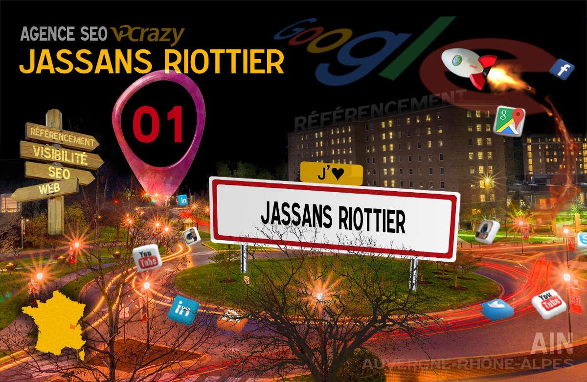Référencement Internet Jassans-Riottier