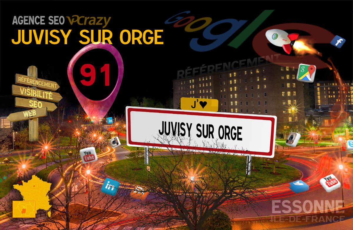 Référencement Internet Juvisy-sur-Orge
