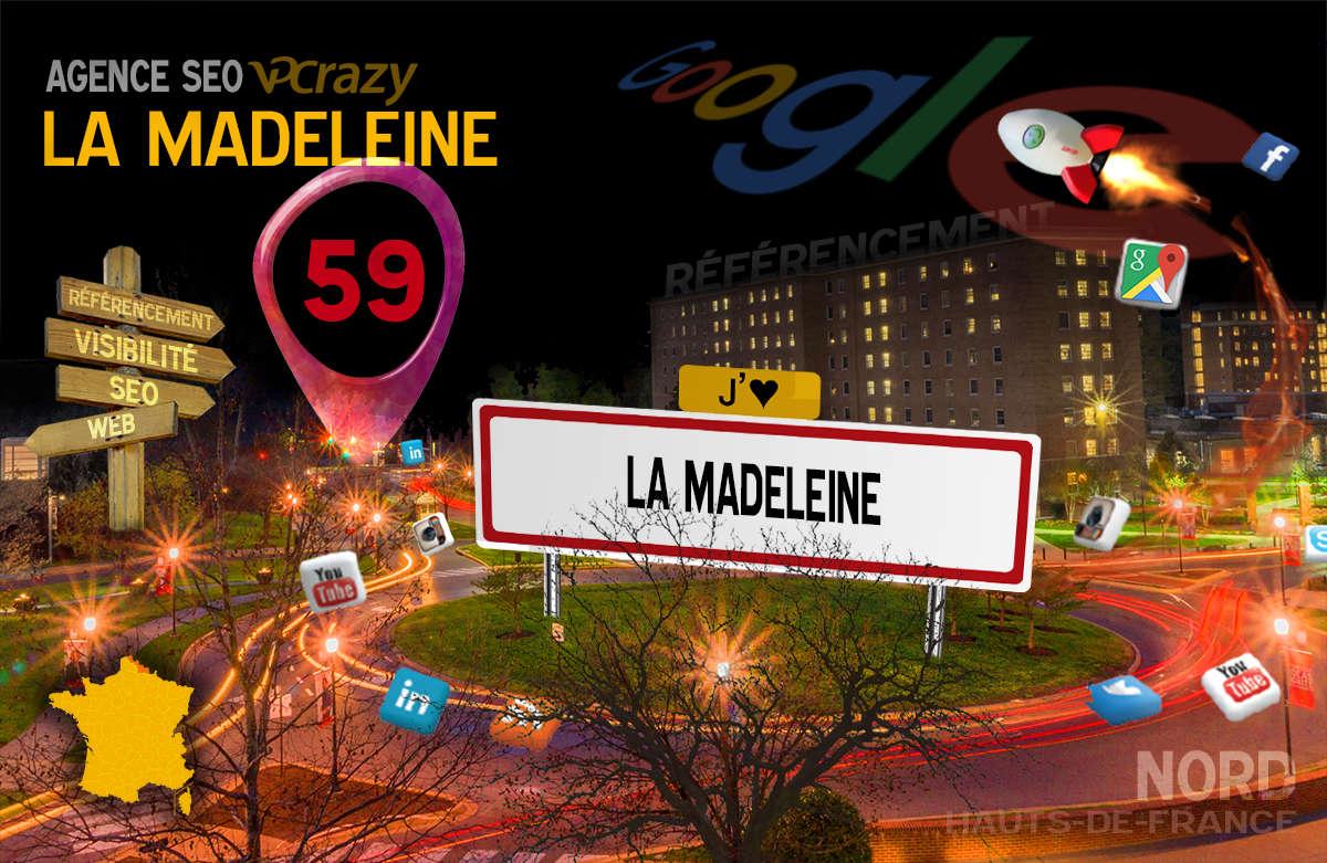 Référencement Internet La Madeleine