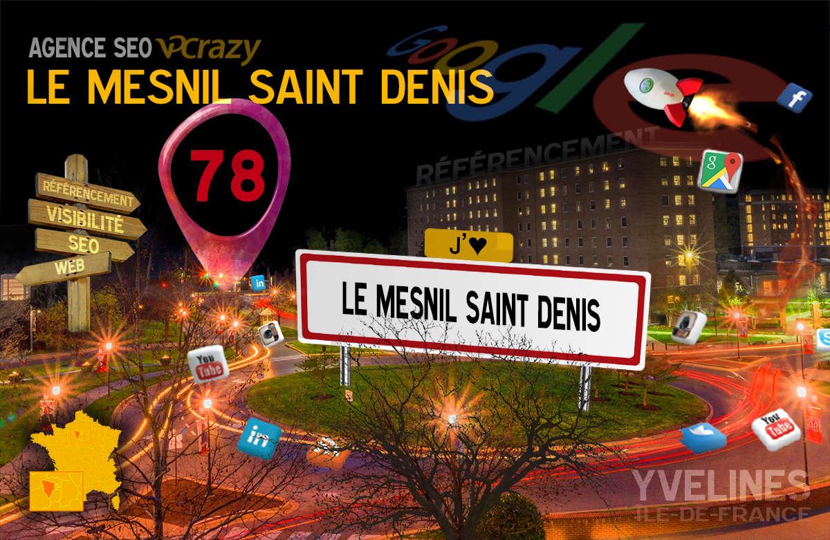 Référencement Internet Le Mesnil-Saint-Denis